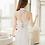 Thumbnail: SXLY7002 白色纱裙高腰聚拢比基尼