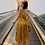 Thumbnail: DQ1884 Yellow Chic Tie Back Dress
