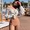 Thumbnail: SNN198077 Nude Colour Bikini With White Outer