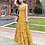 Thumbnail: RDQ18006  Yellow Flora String Back Beach Dress