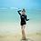 Thumbnail: RSN1928 黑色WAVESOME长袖平角泳装