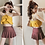 Thumbnail: SXH8067 Layered top w/skort 2pcs set