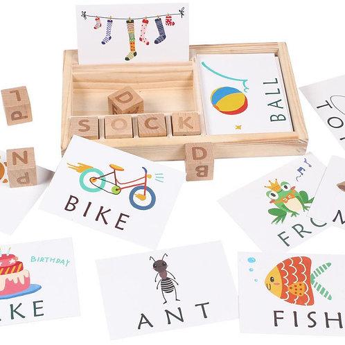 Spelling Wooden Block 拼字木块