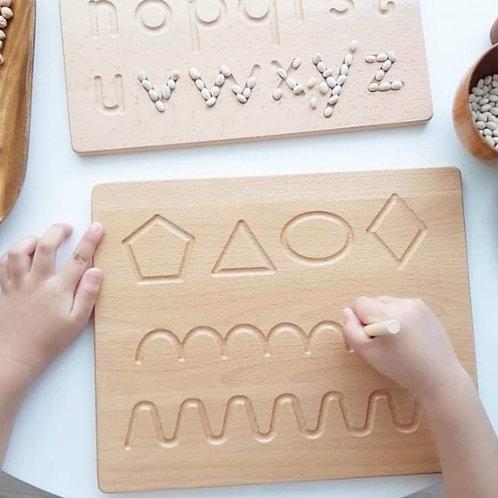 Montessori Tracing Board 蒙氏连线板