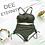 Thumbnail: SNN19885 Army Green High Waist Bikini
