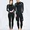 Thumbnail: CSN2074 Cool Black Zip Couple Rash Guard