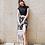 Thumbnail: SXZQ1941Short Sleeve Chiffon dress Pant 3pcs set