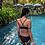 Thumbnail: RSN19727 String Design Black Bikini