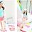 Thumbnail: RKN1844 鹤鸟长袖裙式女童泳装