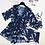 Thumbnail: CSI73703 Crane Navy Chiffon Couple bikini Set