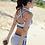 Thumbnail: RSN1769 运动型罩杯平角白色比基尼