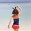 Thumbnail: RSN1434 波点红裤背心泳装