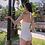 Thumbnail: RSNN19080 Special Texture White Monokini