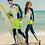 Thumbnail: CSLM18021 荧光白蓝情侣多件套装长袖长裤泳衣