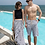 Thumbnail: CXSN8905 Checker Halter Back Couple Swimwear