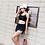 Thumbnail: SN89011黑网外衫运动型平角3件套泳衣