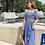 Thumbnail: SXSN1977 Blue Stripes Pant Bikini 3pcs set
