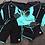 Thumbnail: CSN28121 Green Black Couple RashGuard Set