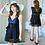Thumbnail: SN190278 Plus Size Deep V Dress Type Swimwear