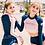 Thumbnail: SN16902 粉色姐妹长袖系列泳衣