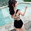Thumbnail: RSN190211 Flounce V top with high waist bikini
