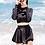 Thumbnail: SYLH1832黑色长袖裤裙泳装