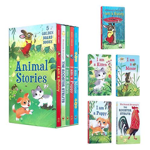 Animal Stories Board Books 5 Books/set