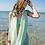 Thumbnail: RSBH1565  浅绿条纹披纱款