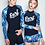 Thumbnail: RCSN17991蓝色SURF情侣长袖泳装