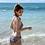 Thumbnail: SN20109 Retro Round Neck Bikini