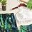 Thumbnail: RSHL73344 绿叶白色后绑3件套比基尼