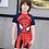Thumbnail: SKQT19088 Spiderman One Piece Kidswear