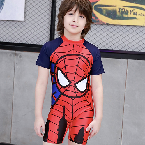 SKQT19088 Spiderman One Piece Kidswear