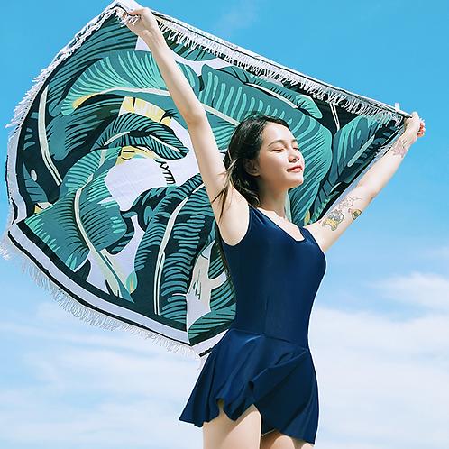 RSF1700 大型圆形沙滩披纱瑜伽野餐巾
