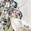 Thumbnail: RSNN1811 Flora Front Zip Rash Guard Monokini