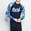 Thumbnail: CSN17991蓝色SURF情侣长袖泳装