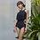 Thumbnail: SN19666 Lace Flounce Halter Back Monokini