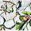 Thumbnail: SGSW17009 热带雨林聚拢四件套比基尼