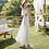 Thumbnail: DQ9001 Off Shoulder Layered Dress