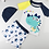 Thumbnail: RKDYM1977 Little Blue Dinosaur 2pcs kids swimwear