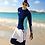 Thumbnail: RSN7209 蓝绿白长袖长裤泳装(女款)