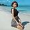 Thumbnail: SN2043 Chic Top with Checker Skirt Bikini