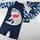 Thumbnail: KYM9787 Blue Sharks One Piece Kidswear