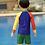 Thumbnail: SKN9311 Good Swimmer Kids Rash Guard