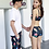 Thumbnail: RCXSN1821 Flora Sport bra Box pant Couple Set