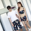 Thumbnail: SXSN1821 Flora Sport bra Box pant 3pcs set (ONLY Women)