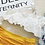 Thumbnail: SXSN8930 Chiffon Outer x WhiteYellow Bikini 3IN1 set
