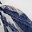 Thumbnail: ST8034乳白后绑蓝裤雪纺长裤三件套比基尼