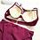 Thumbnail: RSN19966 Elegant Maroon High Waist Bikini