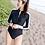 Thumbnail: SN1699 韩国热卖5号长袖拉链连身比基尼